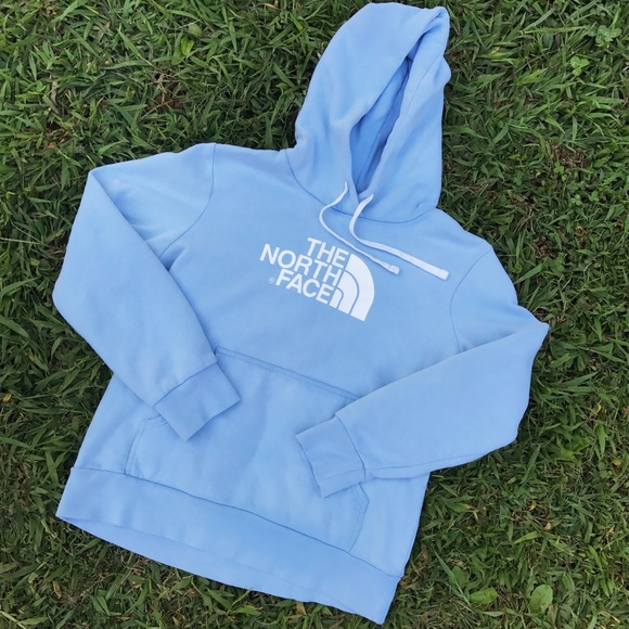 b881bc887 Newer 2010's Baby Blue The North Face® Hoodie