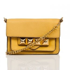 Linea Pelle Cross body bag - converts to clutch -
