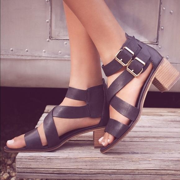 b5c82963702 Rosana Double Ankle Strap Leather Sandal