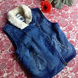 🍁Daughters of the Liberation Denim Lined Jacket