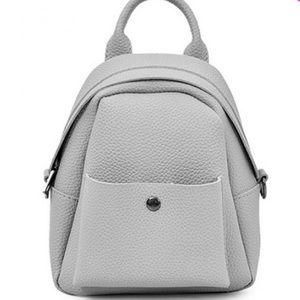 Handbags - 💜HP 11/11💜 Gray Mini Backpack Crossbody Bag