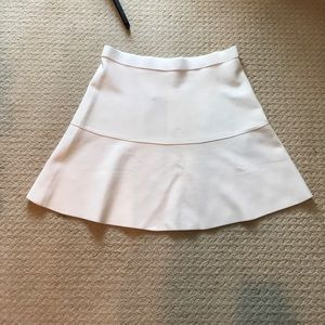 NWT Zara White Knit Skirt LARGE
