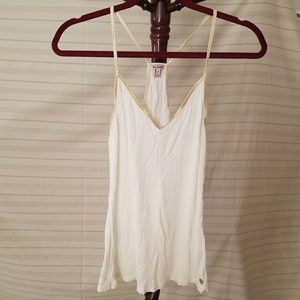 Juicy Couture Cream and Gold Cami