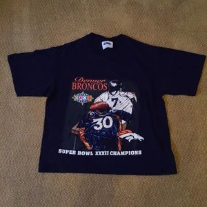 Women's Broncos Crop Top