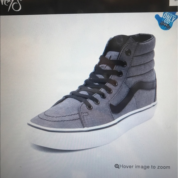 Vans Shoes | Grey And Black High Top