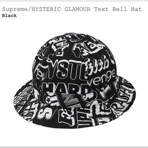 Supreme/Hysteric Glamour Text Bell Hat