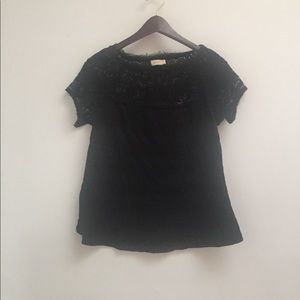 black meadow rue (anthro) shirt size S