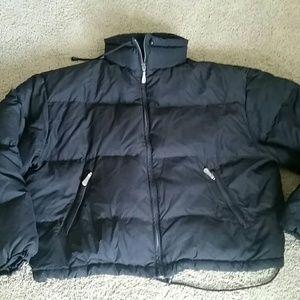 Eddie Bauer Black Coat Size Large