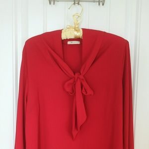Everly Bow Blouse from Modcloth