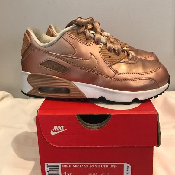 Nike Air Max 90 SE LTR Bronze Color
