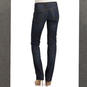 ELIE TAHARI ~ nwot dark blue straight leg jeans