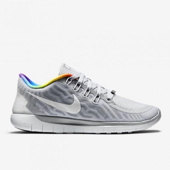 eafb6e7df Nike Free 5.0 Women s Be True Sneaker rainbow 🌈. M 59bab0c99c6fcfe04201a021