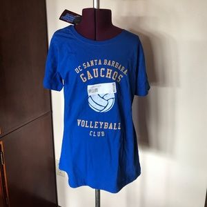 UCSB Volleyball Club T Shirt NWT S