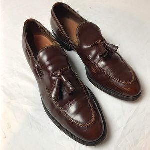 Allen Edmonds Acheson Tassel brown loafer 8.5 AA