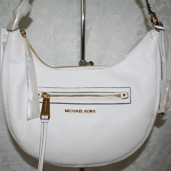 351bf9901ac8 MICHAEL Michael Kors Bags | Michael Kors Rhea Zip Small Messenger ...