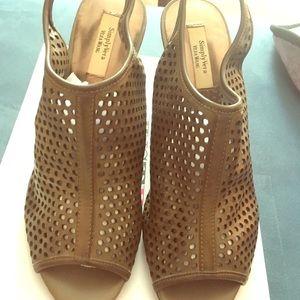 Wedge Sling back Shoes