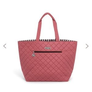 NWT Henri bendel quilted reversible tote
