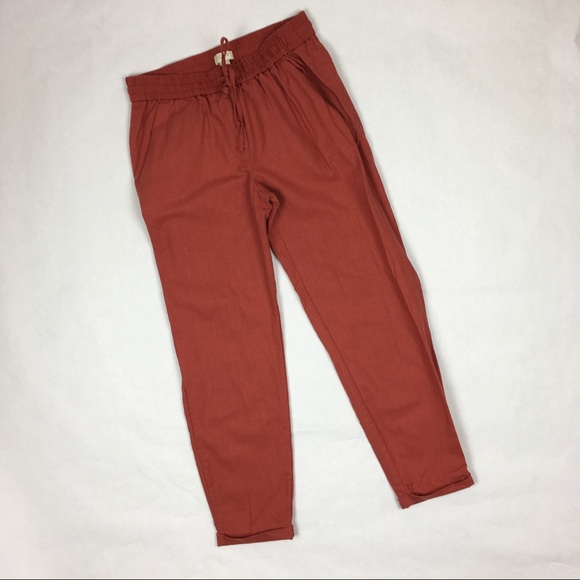 4c4e9fc364b J. Crew Factory Pants - J. Crew Factory Linen Cotton Drawstring Pants