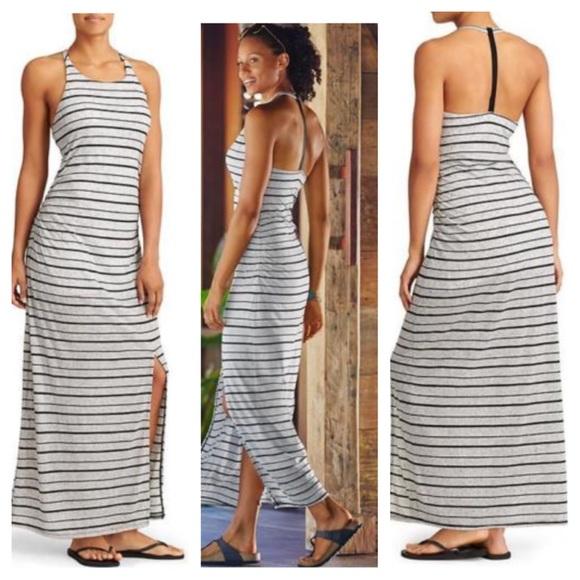 c5cba117fd Athleta Dresses | Serenity Stripe Maxi Dress | Poshmark
