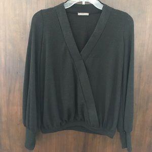 Zara Cross-Over Wrap Sweater