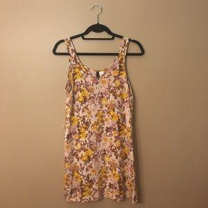 💛💜 Yellow & Purple Floral Dress