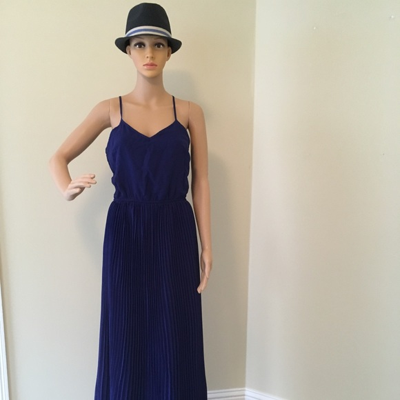Bar III Dresses & Skirts - Cobalt blue maxi dress