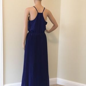 Bar III Dresses - Cobalt blue maxi dress