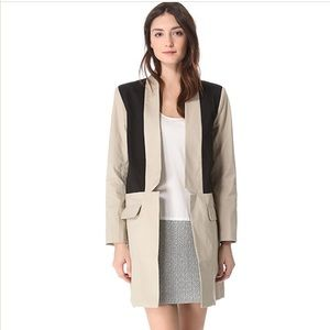 BB Dakota Color Block Trench