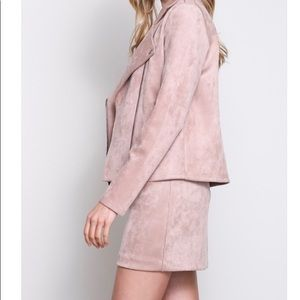Faux skirt , pink color
