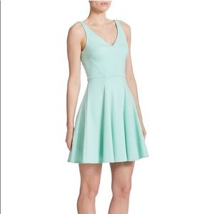 NWT ABS Allen Schwartz skater dress fit and flare