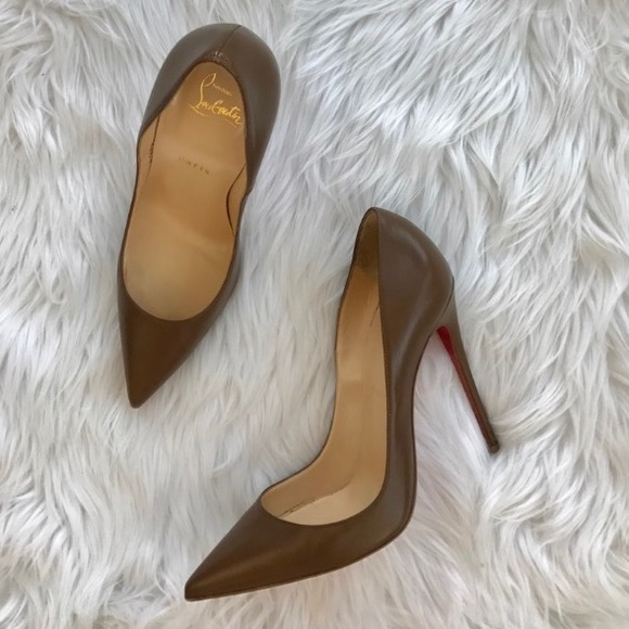 the best attitude 8ad6a 7b208 • Christian Louboutin • So Kate Brown Heels 9.5