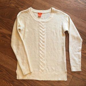 Cream Sweater Small Joe Fresh