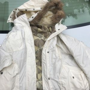 Element jacket with fur hoodie size large