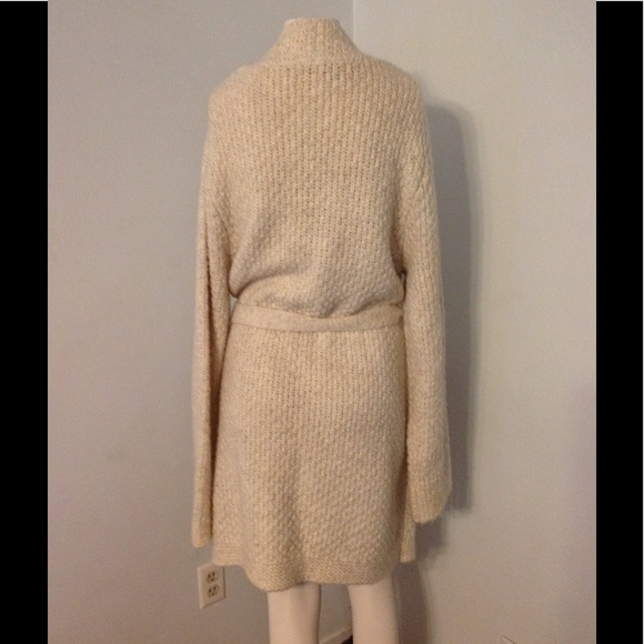 LOFT - Ann Taylor Loft Cable Long Wrap Sweater Coat XL from Judy's ...