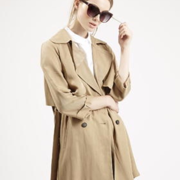 aeeff4351a70 Topshop Jackets & Coats | Nwt 70s Belted Duster Coat | Poshmark