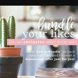 """Add to """"Bundle"""" for private discount!❤"""