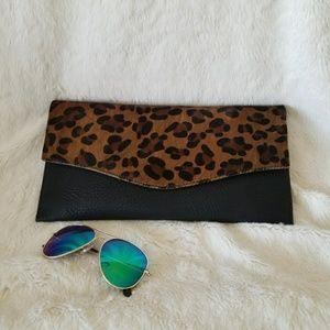 Leopard Cheetah Clutch Bag