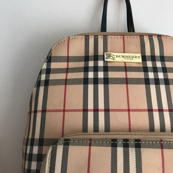 6ae5e8871dd4 Burberry Handbags - Vintage Burberry Backpack