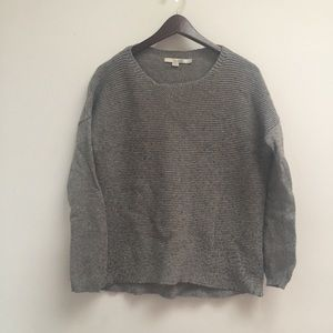 gray boden sweater size 10