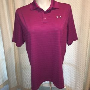 UA golf polo