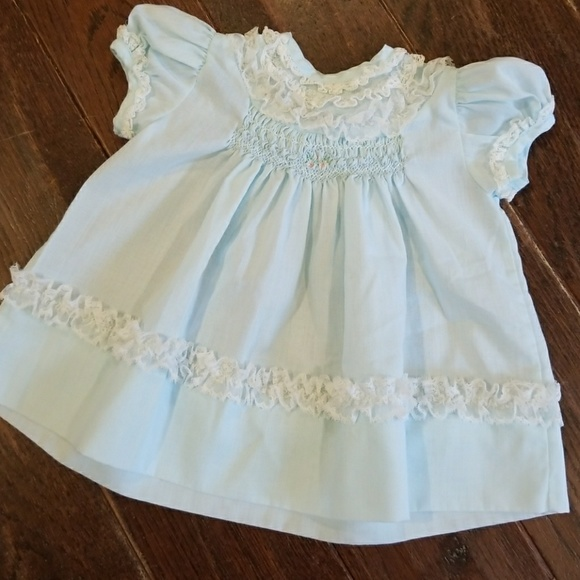 f9be837cb vintage baby Dresses | Polly Finders Hand Smocked Dress | Poshmark