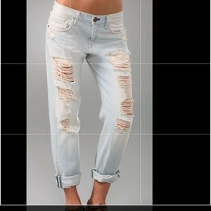 Current/Elliot boyfriend jeans