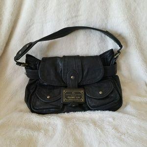 Gianni Bini black leather bag - Dillards