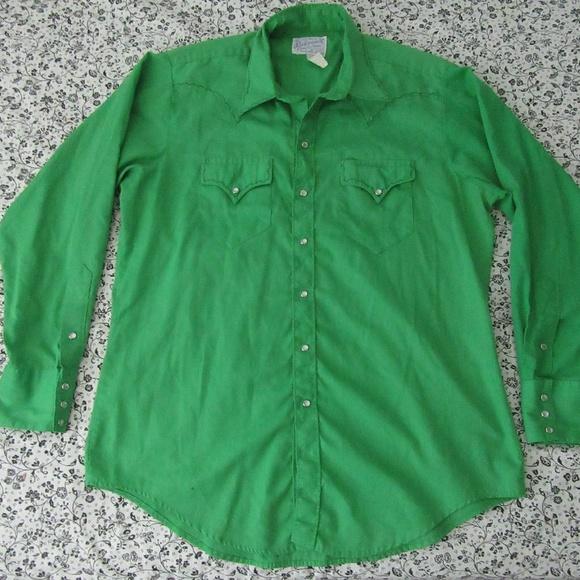 659c4cecef Vntg Rockmount Ranch Wear Tru West Western Shirt M.  M 59badfbdf0137dc12b022a29
