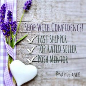 Other - Shop With Confidence in My Closet!