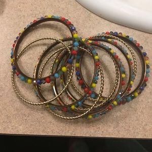 Sams moon Jewelry - Beautiful colorful stone bracelets
