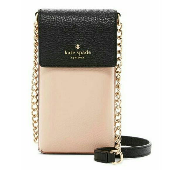 3ce1f388bc86 kate spade Bags | North South Leather Phone Crossbody Bag | Poshmark