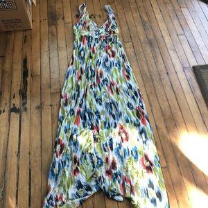 Lilac Maternity maxi dress sz L