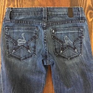 People's Liberation flare jeans