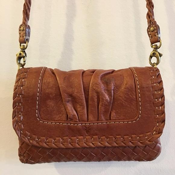 90d7dfedd Frye Bags | Maddy Mini Leather Crossbody Rare Style | Poshmark